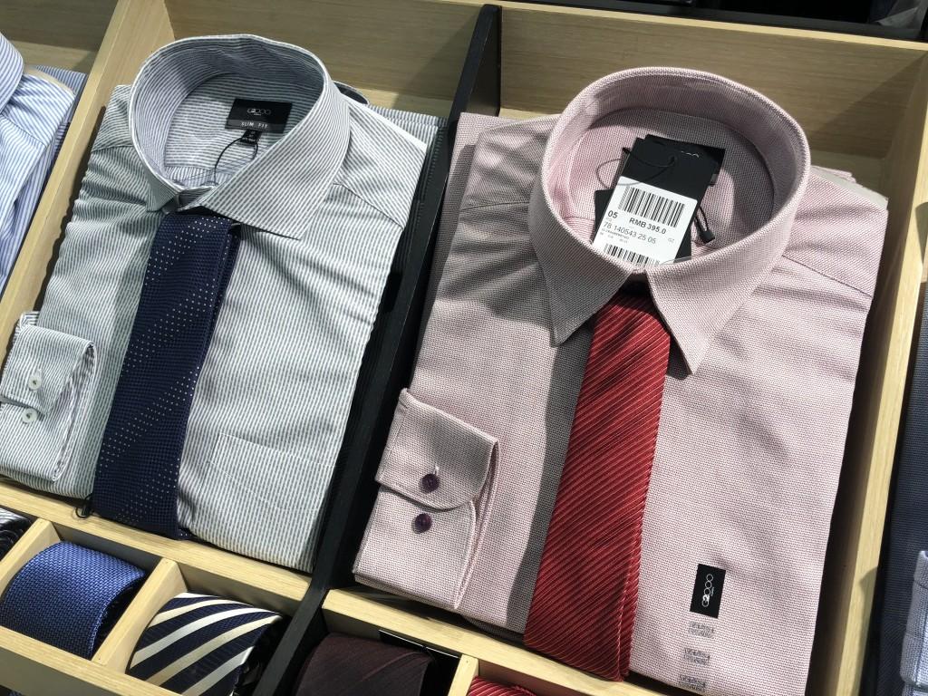 中国の百貨店の服飾売り場 価格は高い